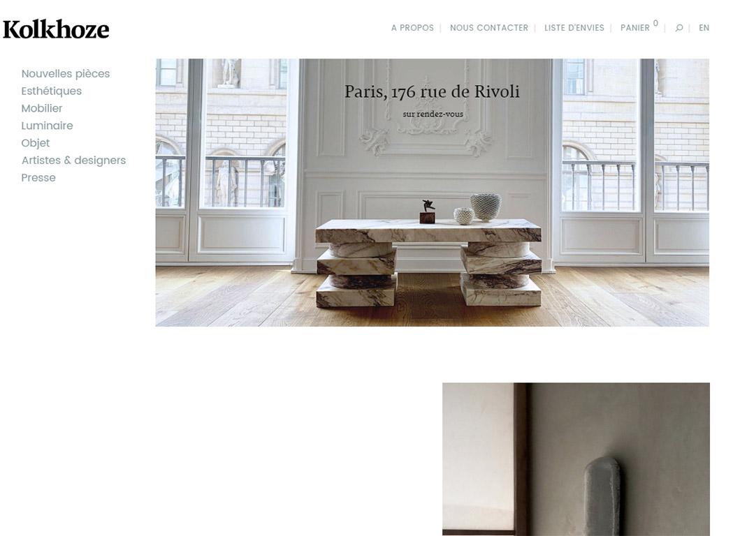 kolkhoze.fr - Page d'accueil - Slider