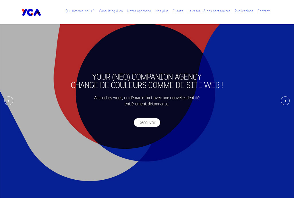 yourcompanion.agency - Page d'accueil - Slider