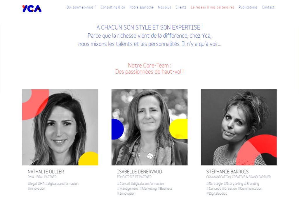 """yourcompanion.agency - Page """"Le réseau & nos partenaires"""""""
